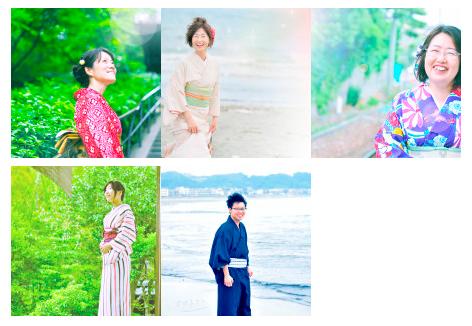 【開催レポ】5人それぞれのお写真:鎌倉撮影会の加工という名の魔法.・*☆