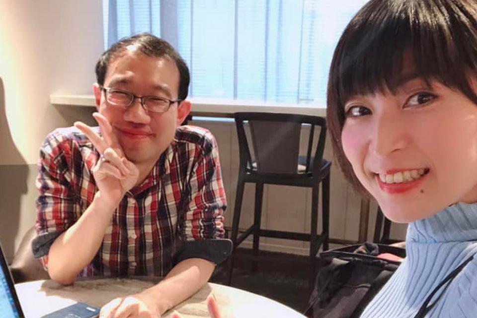 女性起業家専門コーチ 川田治様と打ち合わせ